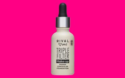 RIVAL loves me Triple Filter Makeup 01 light rose