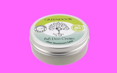 Greendoor Naturkosmetik Fuss Deo Creme