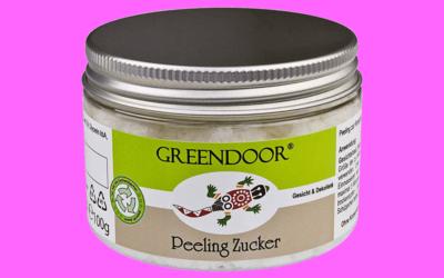Greendoor Peeling Zucker mit Bio-Babassubutter