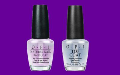 OPI Natural Nail Base Coat und Top Coat