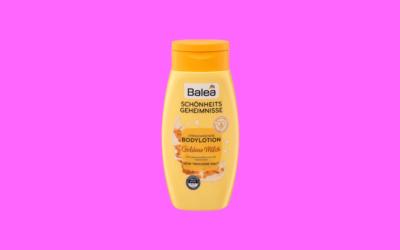 Balea Schönheitsgeheimnisse Verwöhnende Bodylotion Goldene Milch