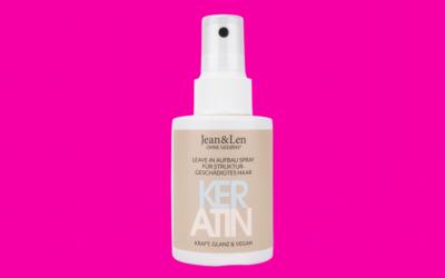 Jean&Len Keratin Leave-In Aufbau Spray