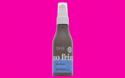 This is it no frizz Hair Serum