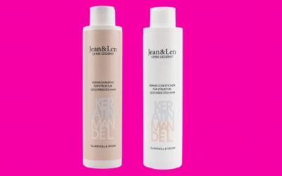 Jean&Len Keratin Mandel Repair Shampoo und Conditioner