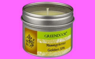 Greendoor Massagekerze Golden SPA