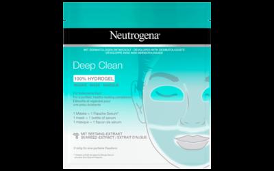 Neutrogena Deep Clean 100% Hydrogel Maske